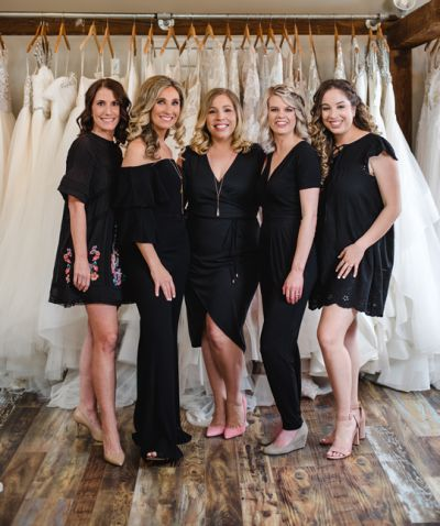 Jennifer's Bridal Staff